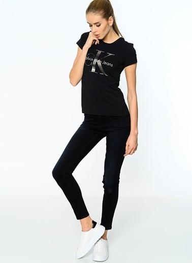 Calvin Klein Jean Pantolon | Mid Rise Super Skinny Lacivert